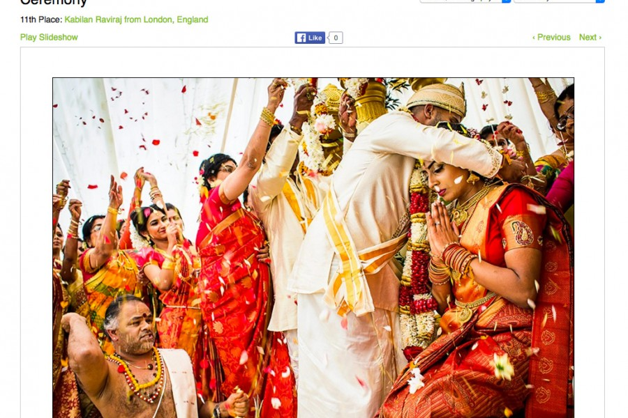 WPJA Tamil Award Winning Wedding Photographer