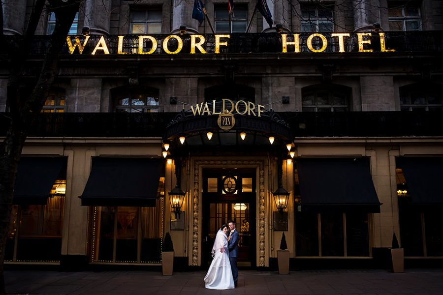 Yee and Luke - Waldorf Hilton Hotel London Wedding