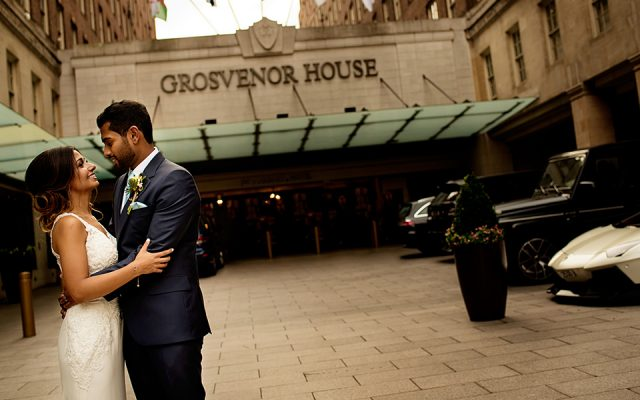 Amira and Sujan - Grosvenor House